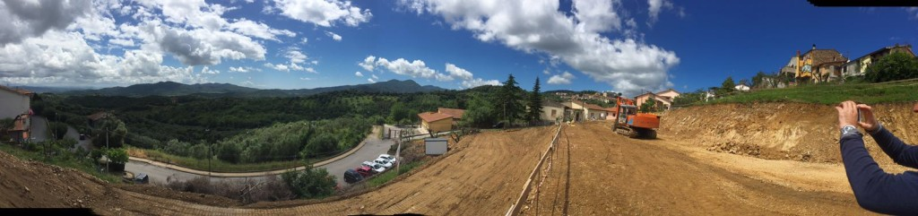 Panoramica del terreno